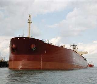 Kazakhstan has put into service three of the Caspians largest oil tankers