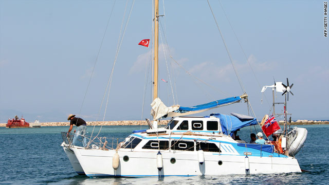 The Irene leaves Cyprus on Sunday carrying Jewish activists bound for Gaza
