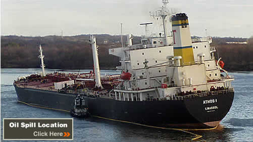 On Friday, November 26, 2004, at approximately 9:15 p.m., the 750-foot, single-hull tanker Athos I, registered under the flag of Cyprus, was reported to be leaking oil into the Delaware River en route to its terminal at the CITGO asphalt refinery in Paulsboro, New Jersey.