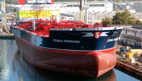 The Stena Penguin. Photo: Concordia Maritime