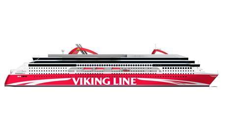 The planned newbuilding. Photo: Viking Line