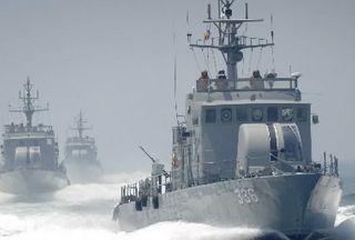 A South Korean Navy ship (file photo)