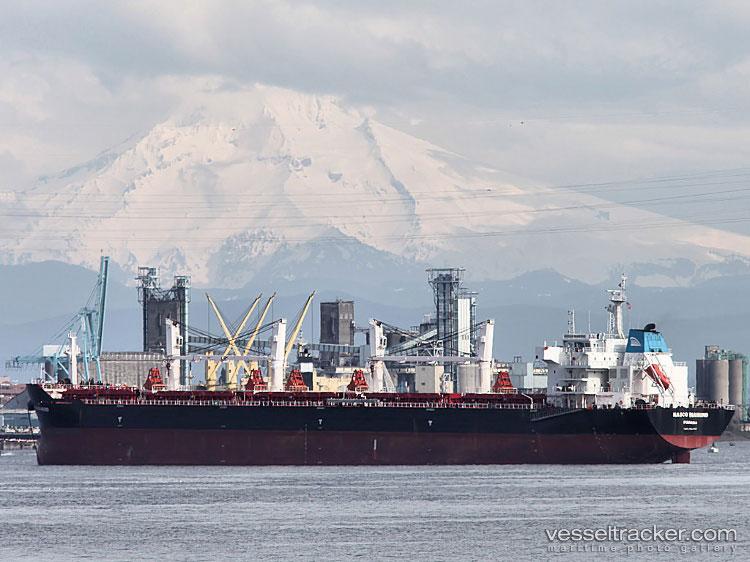 NASCO Diamond IMO 9467861, dwt 57000, built 2009, flag Panama, owner Nanjing Ocean Shipping Co. Ltd.