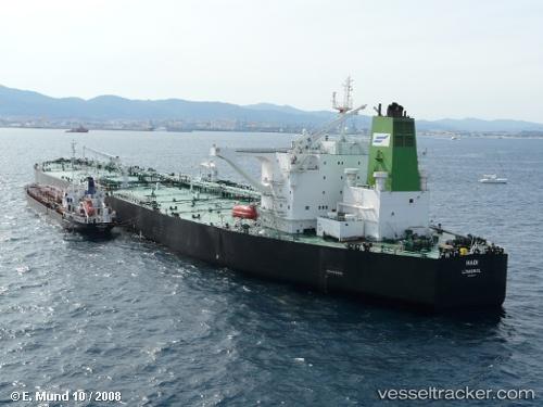 Hadi IMO 9362073, dwt 317130, built 2007, flag Cyprus, owner National Iranian Tanker Co. (NITC).
