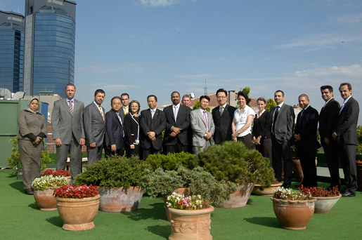 Hanjin Shipping Eastern Mediterranean and Black sea agency managers