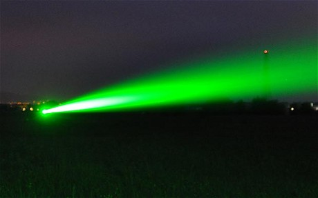 British engineers are developing a new type of defence system that uses lasers to incapacitate pirates by dazzling them