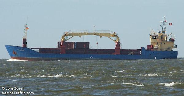General cargo Leopard IMO 8902096, dwt 1780, built 1989, flag Denmark, owner Shipcraft, Horsholm, Denmark.