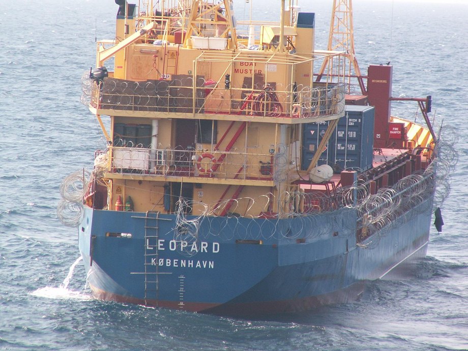 Crew of MV Leopard locked away in Ship's citadel, but it didn't help against pirates and their fate is unclear.