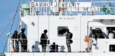 S. Korean navy team frees hijacked cargo ship; kills Somali pirates