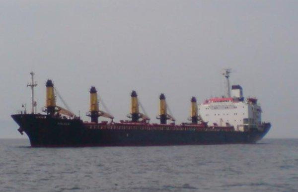 Mirach IMO 8116881, dwt 27192, built 1982, flag Panama, manager/owner Mira Denizcilik, Turkey.