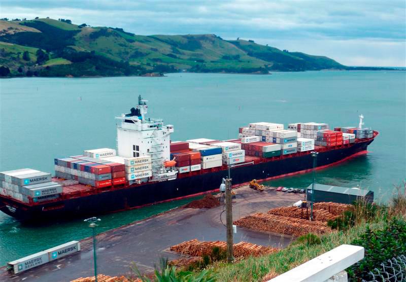 Maersk Dabou IMO 9295402, dwt 52786, capacity 4132 TEU, built 2005, flag Liberia.