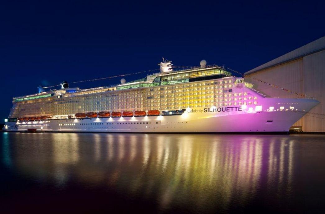 Germany Meyer Werft Shipyard Finishes Cruise Ship CELEBRITY - Celebrity cruise ship photos