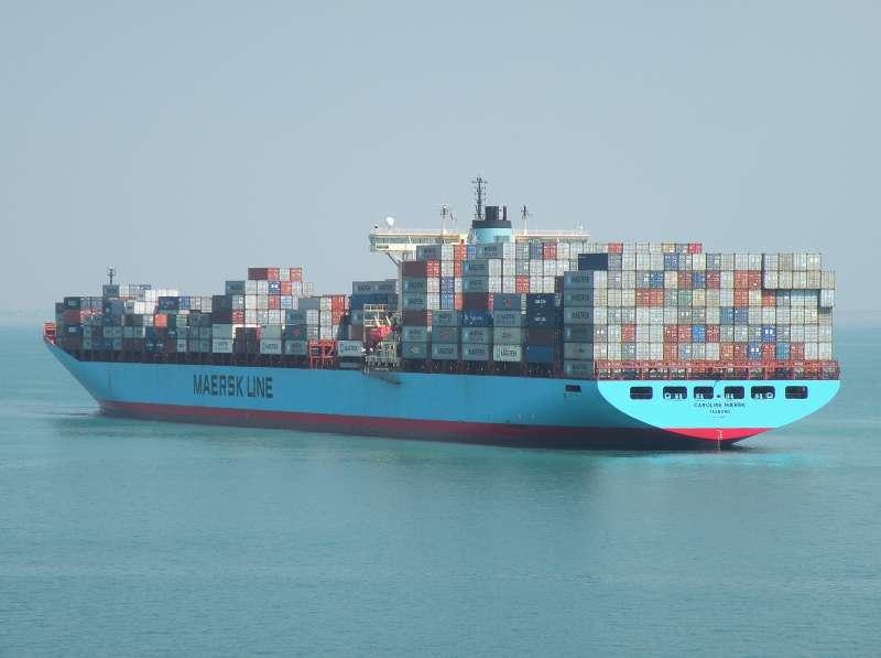 Carolina Maersk, 8660 TEU Ship