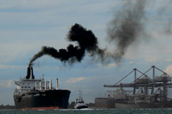 The UK Chamber of Shipping are to launch 'manuals' to address the practical options available to the industry in regards to lowering shipping emissions. Image: roberto_venturini / Flickr