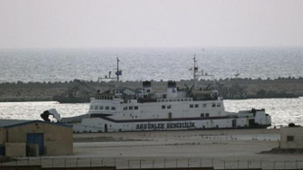 The Turkish vessel