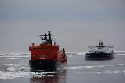 Suezmax Tanker 'Vladimir Tikhonov' Completes Transit Along Northern Sea Route