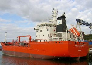 The second vessel Ursula Essberger, has just entered service and recently made first calls in Europe