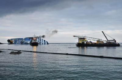 Progress on Costa Concordia Salvage Operation