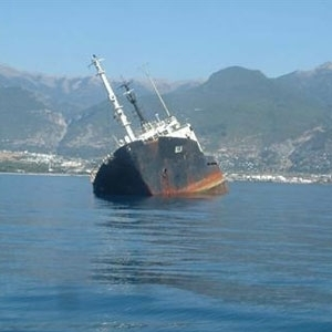Greek Oil Tanker Sinks West of Athens, Captain Missing