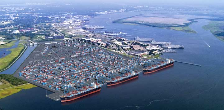 SCPA's Charleston volume soars 10pc to a record 2.14 million TEU in FY2017