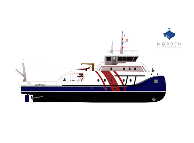 Norden Ship Design will be responsible for the design of the vessel.