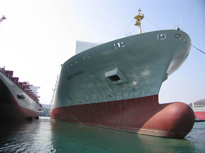 Wan Hai Lines time charters Diana Containerships' 6,494 TEU ship for US$11,000/day