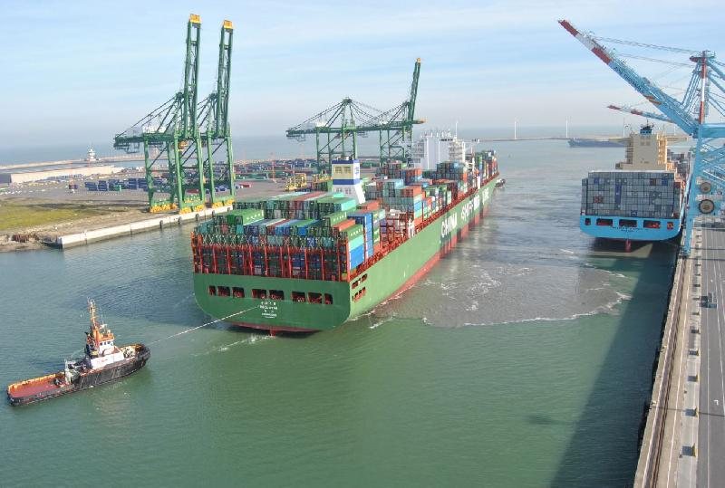 APM Terminals Zeebrugge regains a Far East service from CMA CGM