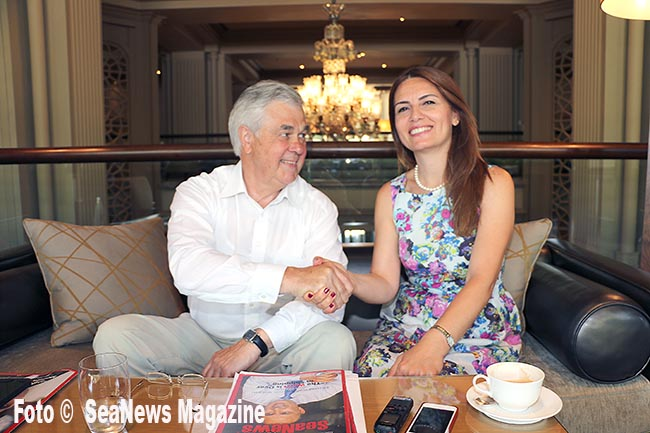 Mrs. Fulya Tekin Istikbal, our editor-in-chief, interviewed with Mr. Frank Horch during his visit to Istanbul, on early June, 2014
