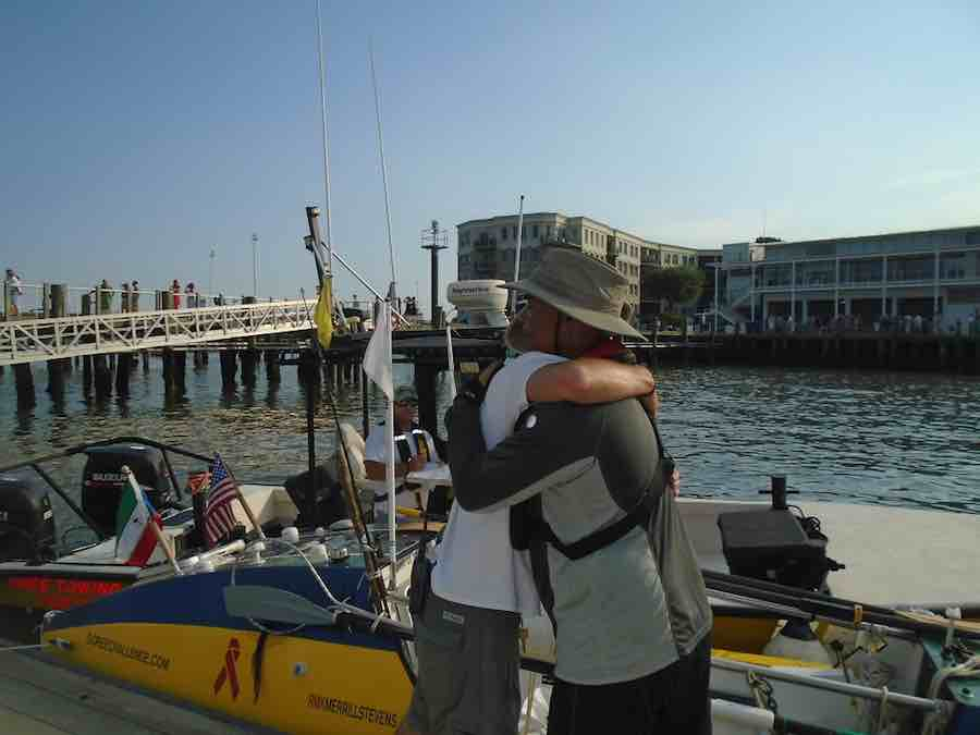 City of Charleston gives rest to US rower