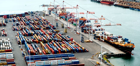 New Zealand lists world's top 10 box ports and their annual throughputs