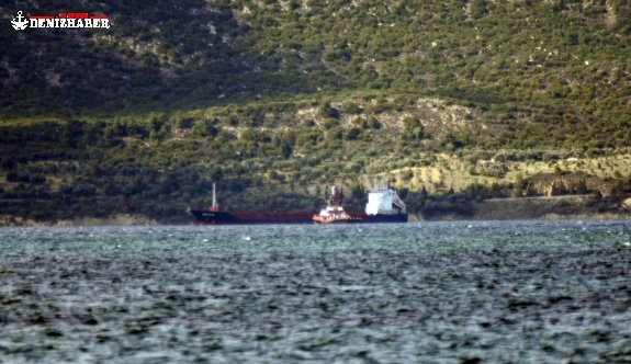"Cargo ship ""Mom Rayme"" disabled in Dardanelles"