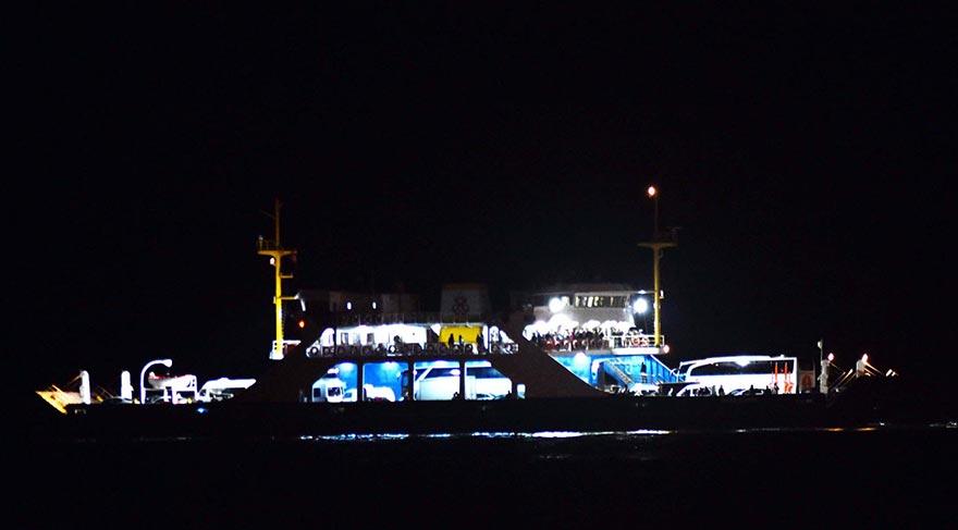 "Ferry ""Avşa Adası"" disabled in Dardanelles"