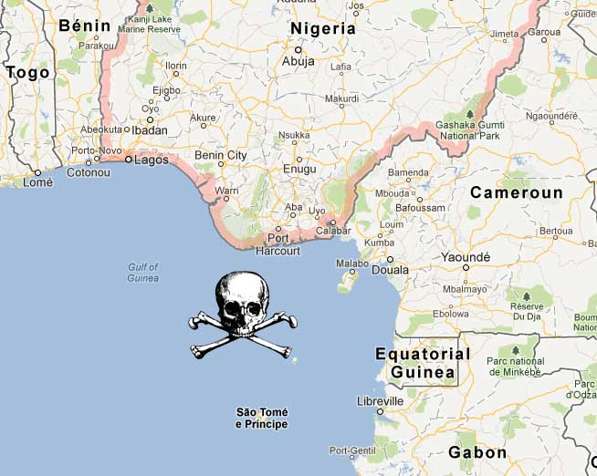 Nigerian pirates release six crewmen kidnapped last month