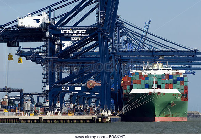 Hutchison Ports begins building new container yard at UK port of Felixstowe