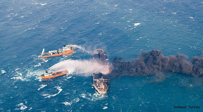 Burning tanker drifting in Japanes ecomonic zone - Chinese rejected help