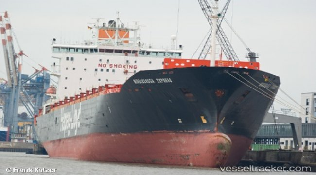 Container ship fined for exceeding speed