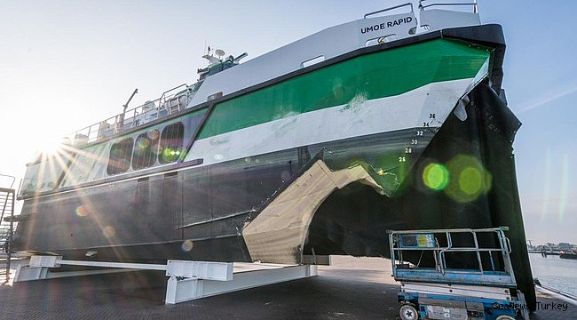 Hovercraft damaged in collision