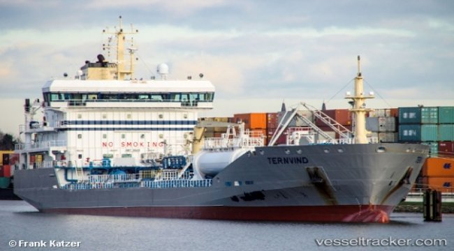 Taker grounded off Gothenburg