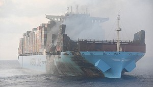 Maersk tries to minimise disruptions for customers after fire