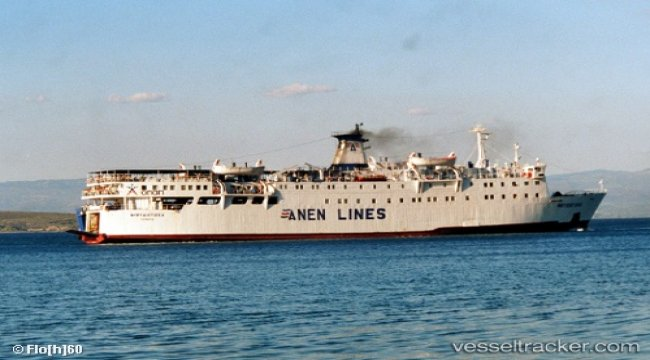 Ferry sidelined at Kyllini due to damage