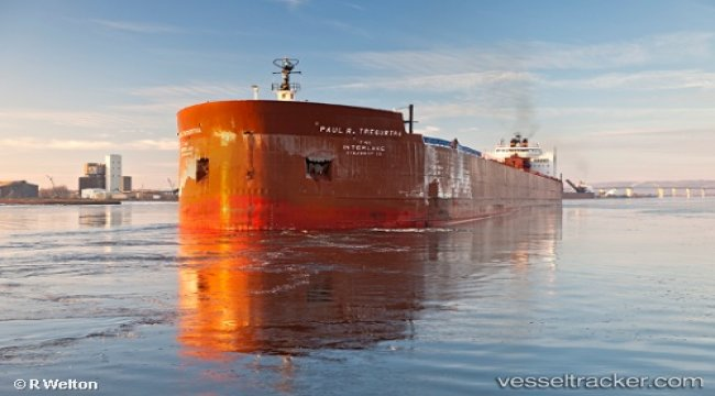 Generator fire aboard bulkcarrier