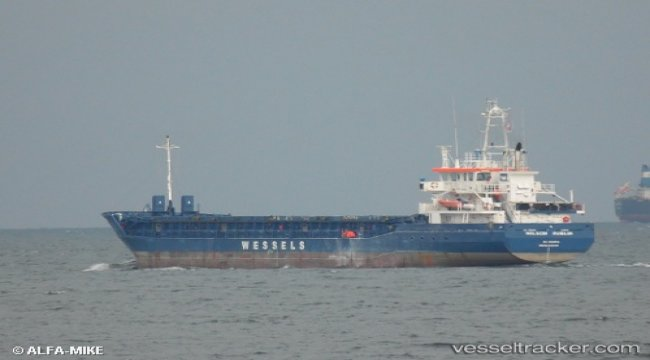 Ship suffered damage fuel injection pump