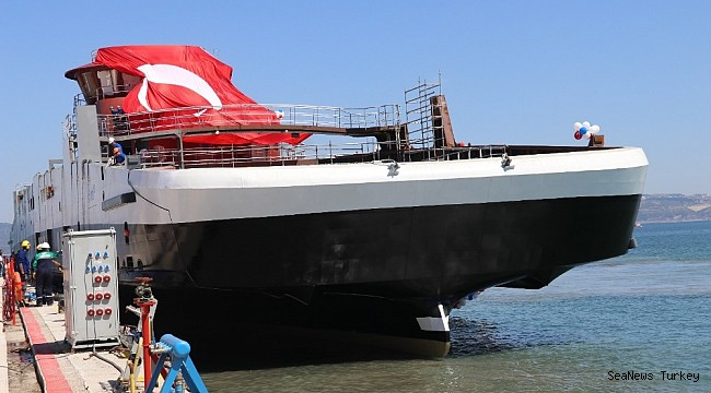 Ships powered with batteries built in Cemre Shipyard of Turkey