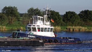 Tug in trouble off Scheveningen