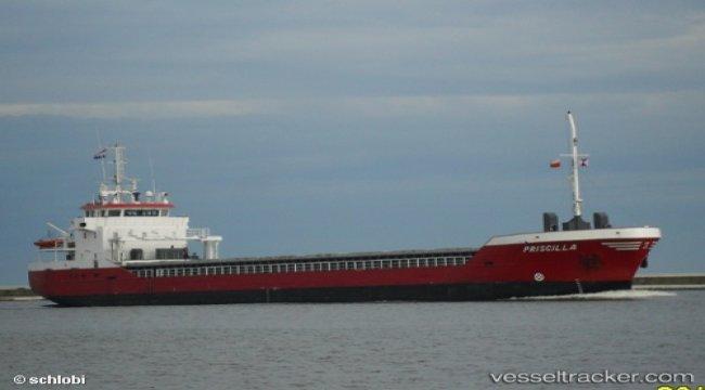 Freighter still aground