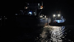 LPG Tanker and cargo ship collided near Istanbul