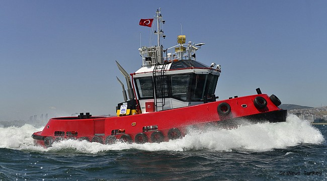 Sanmar's new Gökçay series' first vessel delivered