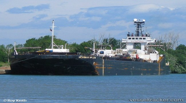 Barge of Everlast grounded