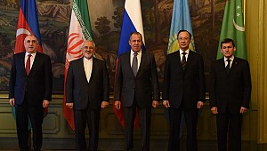 Caspian Sea FMs agree to draft convention on delineation, use of sea