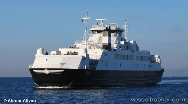 Ferry disabled after rudder trouble